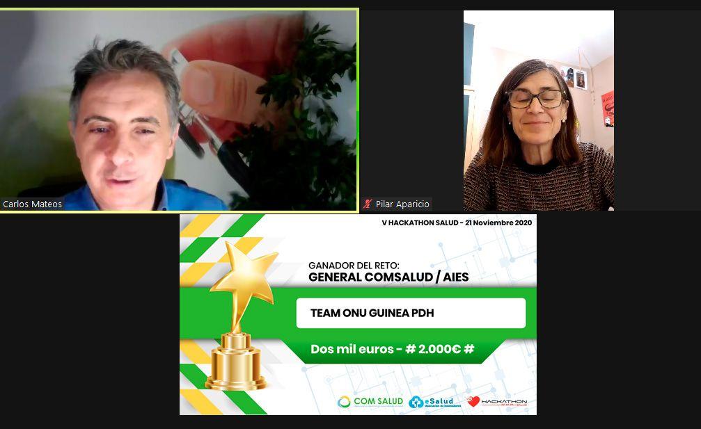 Foto de Ganador V Hackathon Salud
