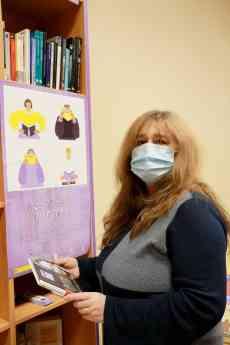Mercedes Rivas, bibliotecaria de Albalate de Zorita