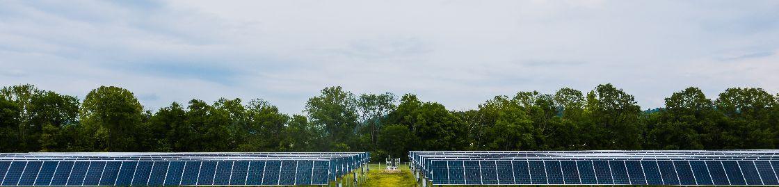 Foto de Planta solar fotovoltaica