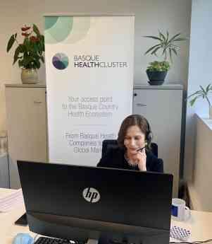 Foto de María Pascual de Zulueta, directora de Basque Health
