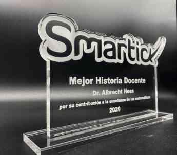 Noticias Formación | Trofeo Premio Smartick a la Mejor Historia