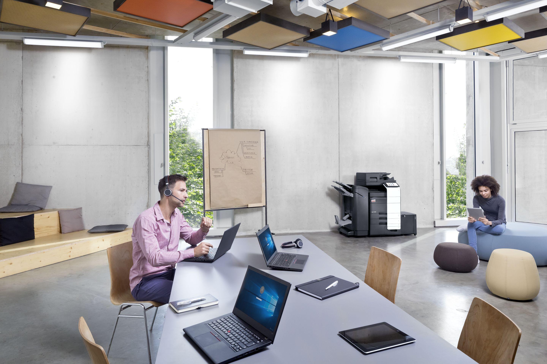 Ventajas del Cloud Printing con las impresoras para oficina DEVELOP