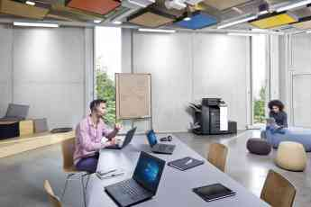Oficina con impresora DEVELOP