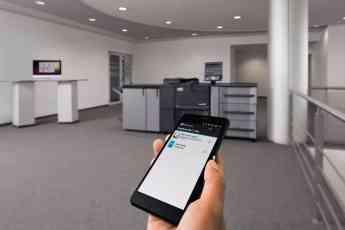 Foto de Imprimiendo desde el móvil con una multifuncional DEVELOP