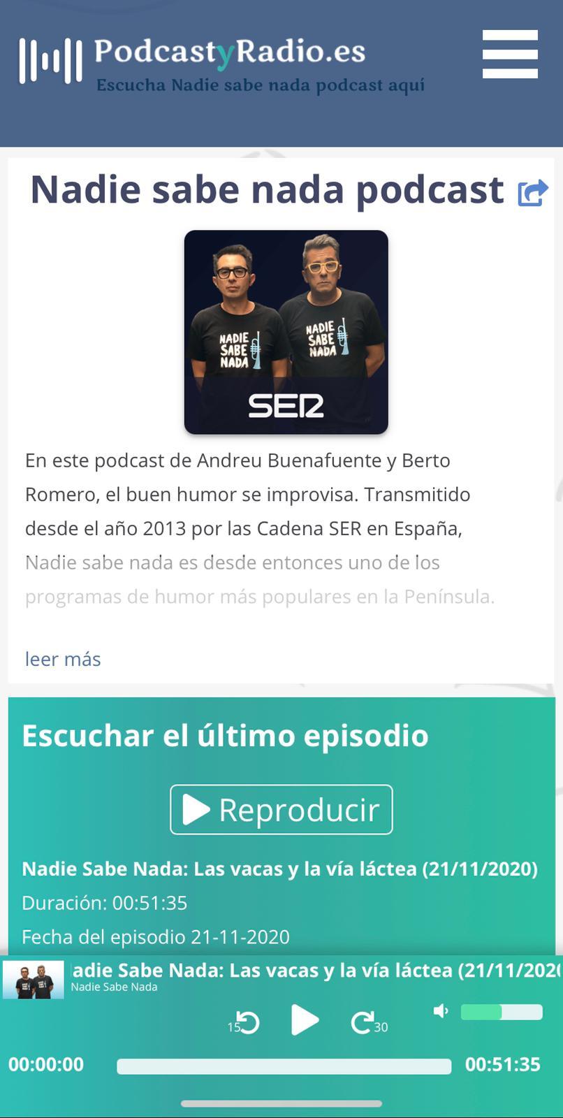 Fotografia PodcastyRadio.es movil