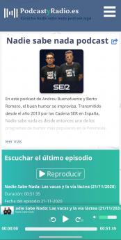 Foto de PodcastyRadio.es movil