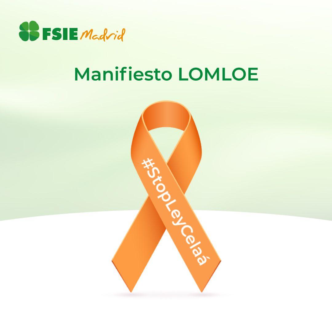 Foto de FSIE_MADRID_Manifiesto FSIE Madrid sobre la ley Celaá