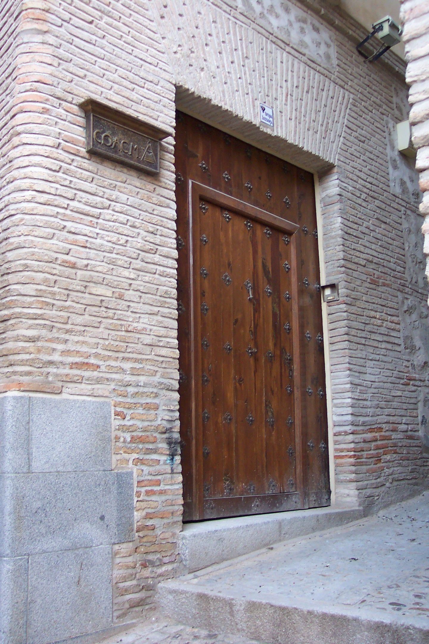 Fotografia Sede del COACM en Toledo