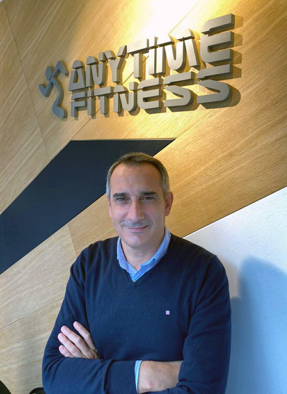 Foto de Anytime Fitness ficha a Enrique Iranzo como Director de