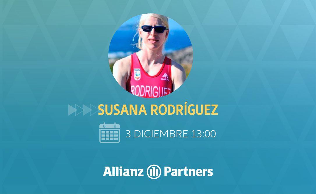 Fotografia Susana Rodriguez, triatleta paralímpica participa en la