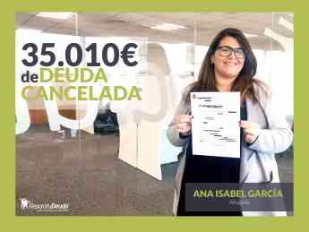 Ana Isabel Garcia, abogada responsable en Repara tu deuda abogados