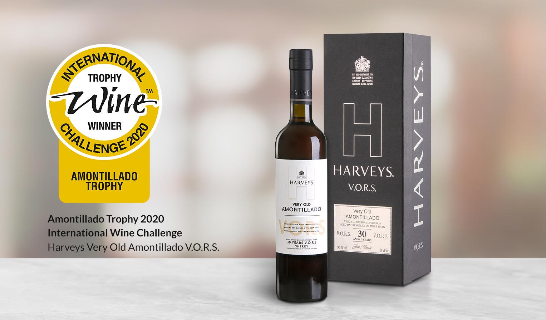 Harveys Very Old Amontillado V.O.R.S. - Mejor Amontillado del Mundo 2020 IWC