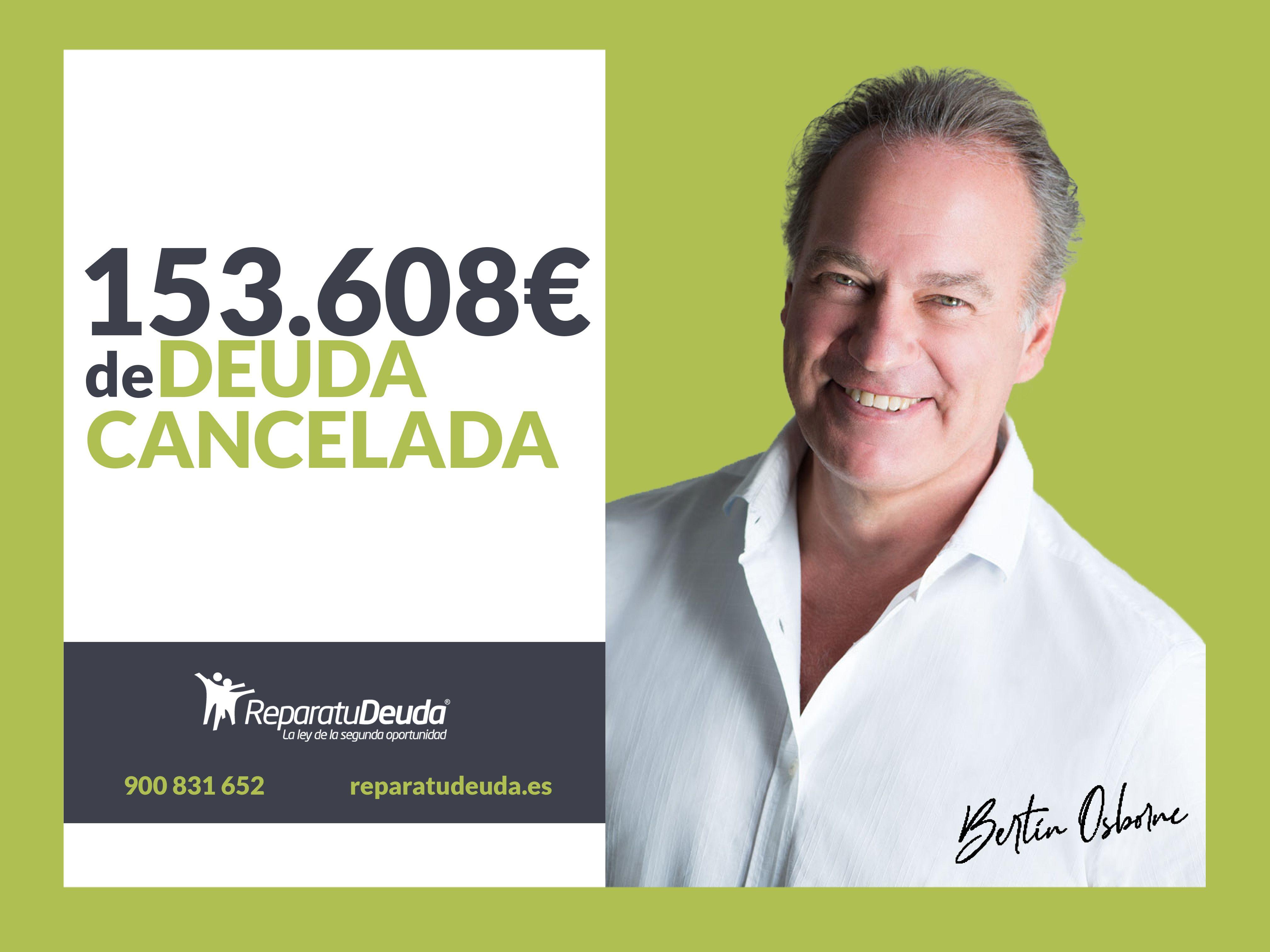 Repara tu Deuda abogados cancela 153.608 ? de deuda en Barcelona, con la Ley de Segunda Oportunidad