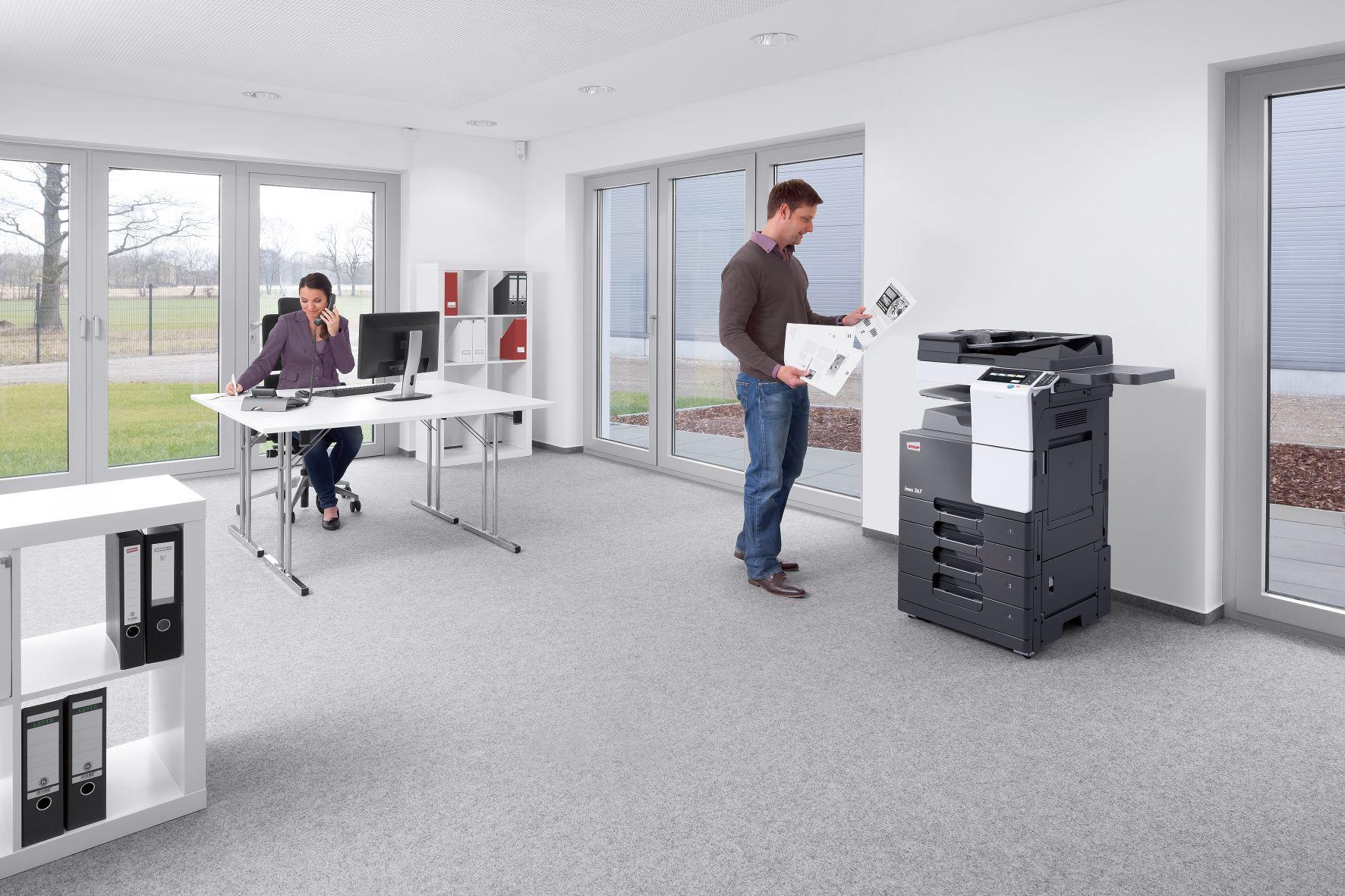 Incrementando la productividad con equipos DEVELOP