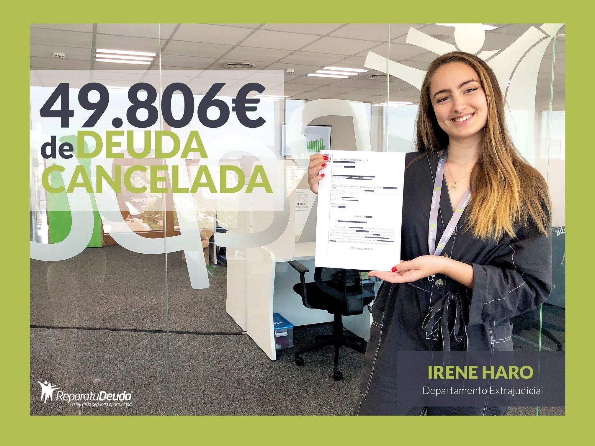 Repara tu Deuda Abogados cancela 49.806 ? en Valencia con la Ley de Segunda oportunidad