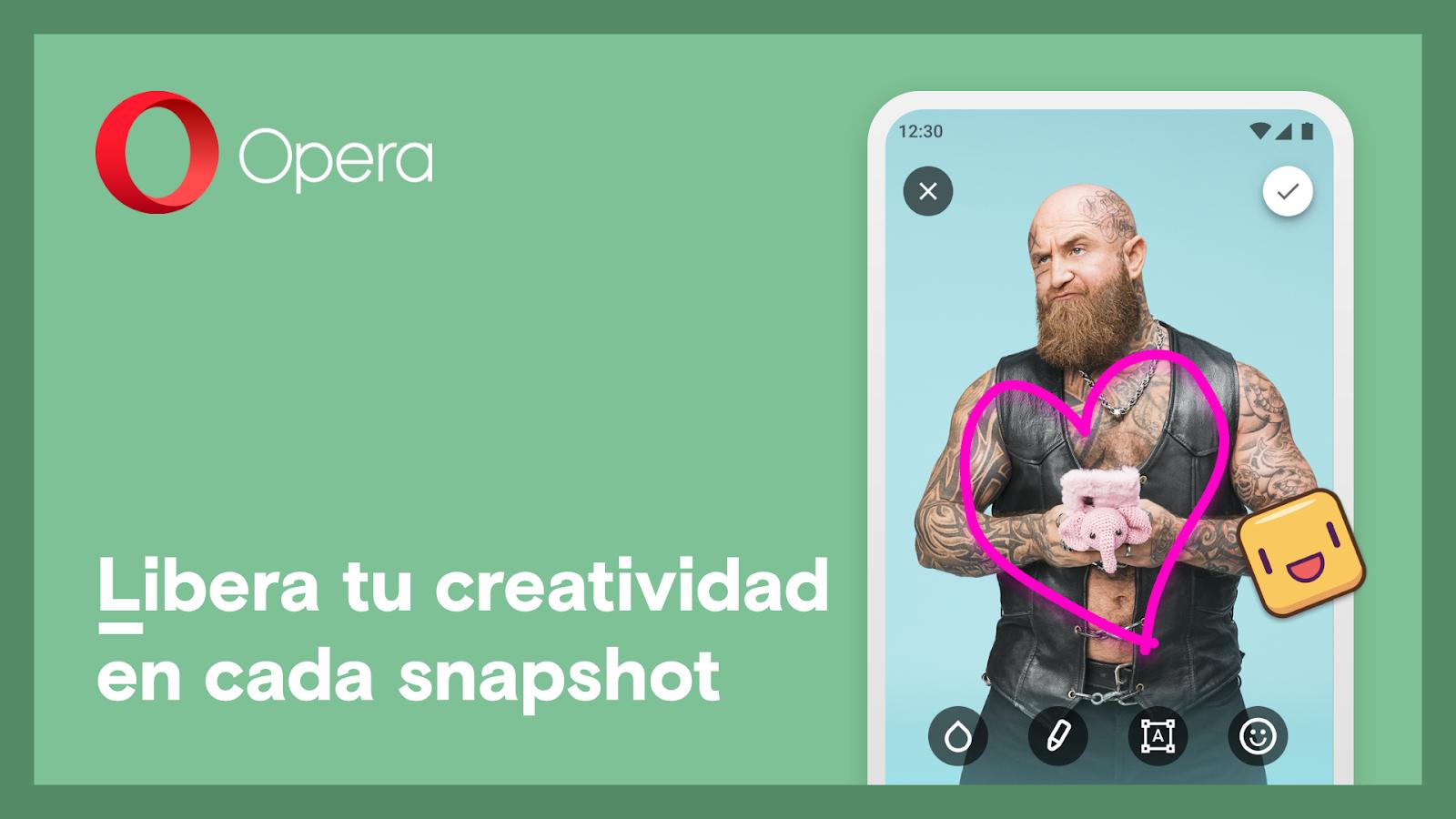 Foto de Nuevas funcionalidades de Opera para Android: WebSnap y