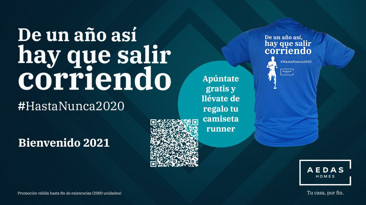 "La promotora AEDAS Homes invita a ""salir corriendo del 2020"""