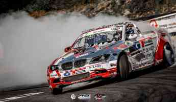 El BMW M3 E93M de Benjamin Boulbes utiliza neumáticos GT Radial