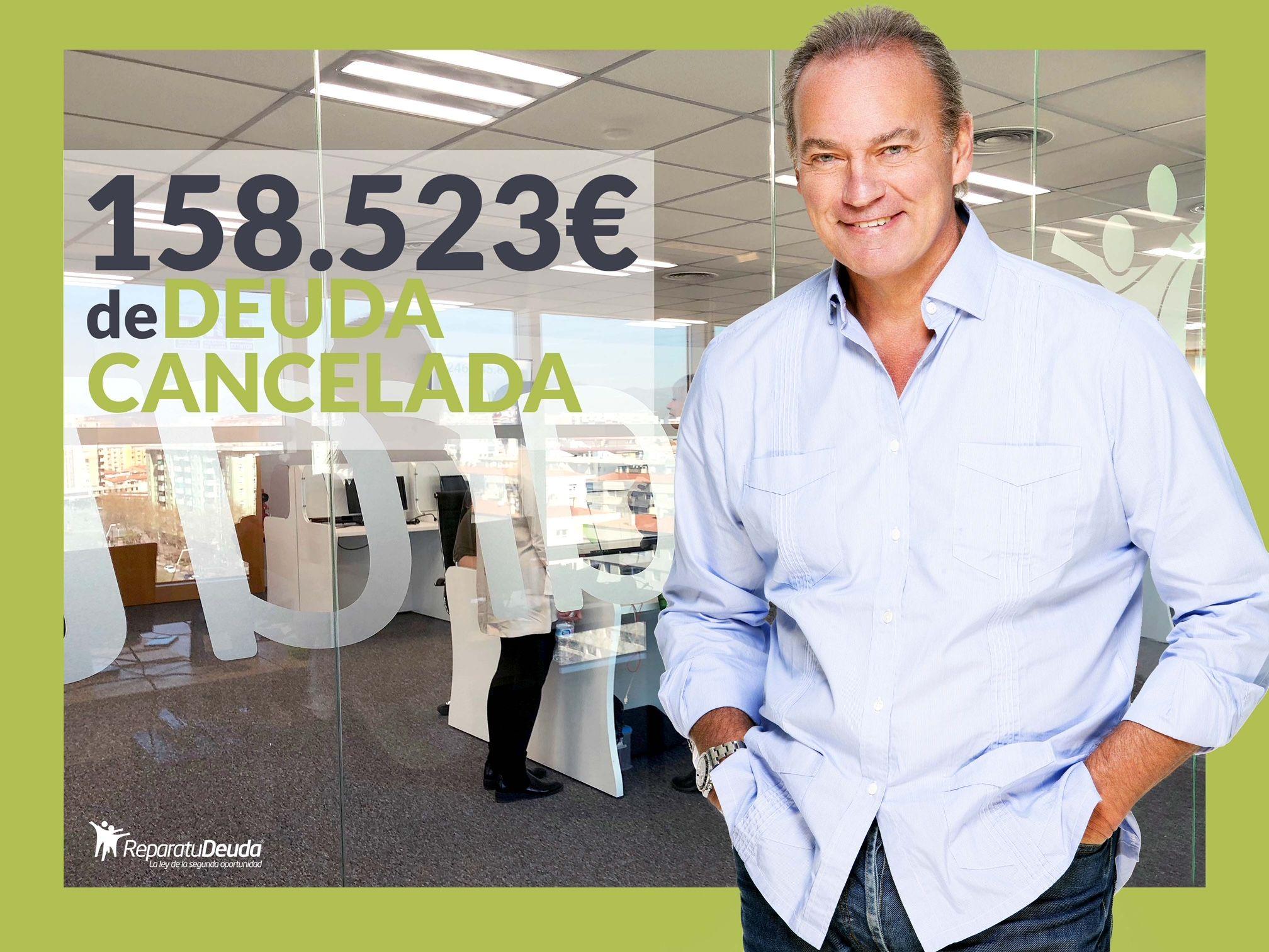 Repara tu Deuda abogados cancela 158.523 ? en Zaragoza con la Ley de Segunda Oportunidad