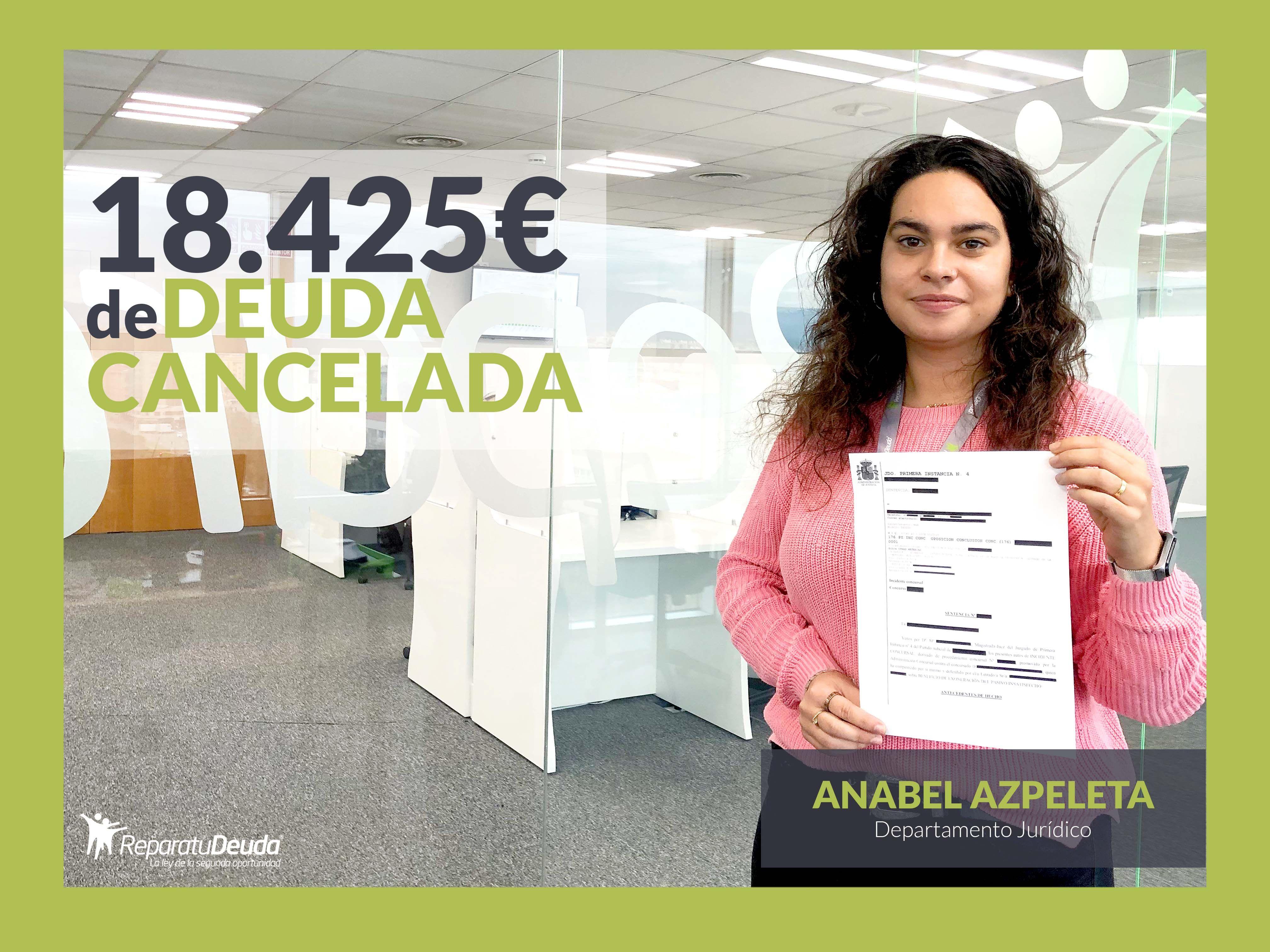Repara tu Deuda abogados cancela 18.452 ? en Madrid con la Ley de Segunda Oportunidad