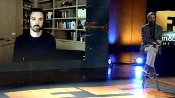 Marc Merrill, en su charla de ayer, retransmitida en directo vía streaming.