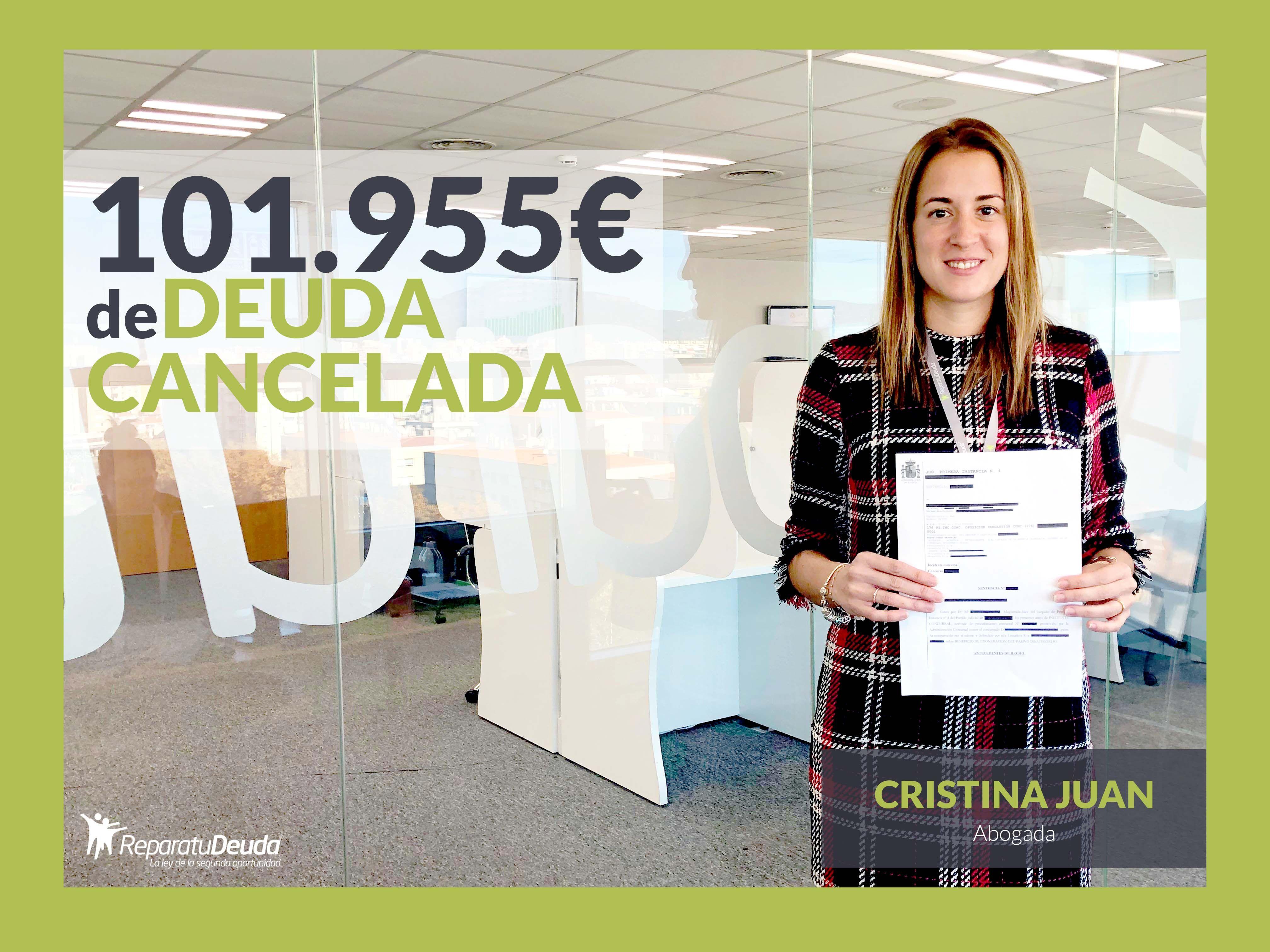 Repara tu Deuda cancela 101.955 ? en Santa Cruz de Tenerife (Canarias) con la Ley de Segunda Oportunidad