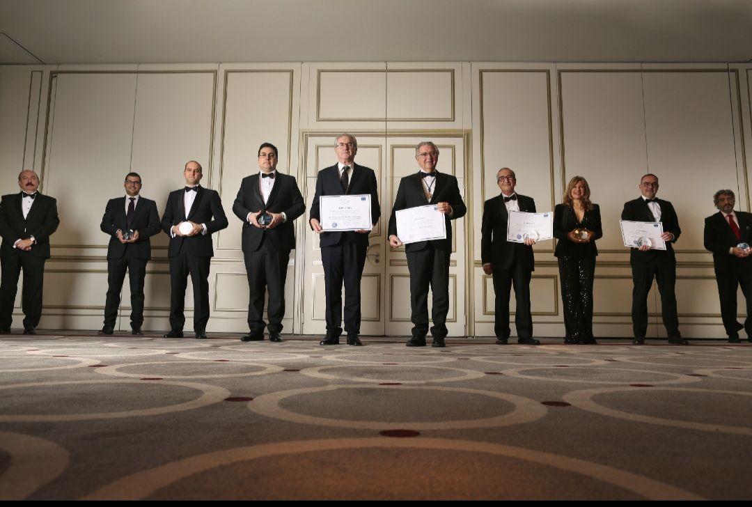 Foto de  Galardonados en la I Edición de los Premios Pasteur de la
