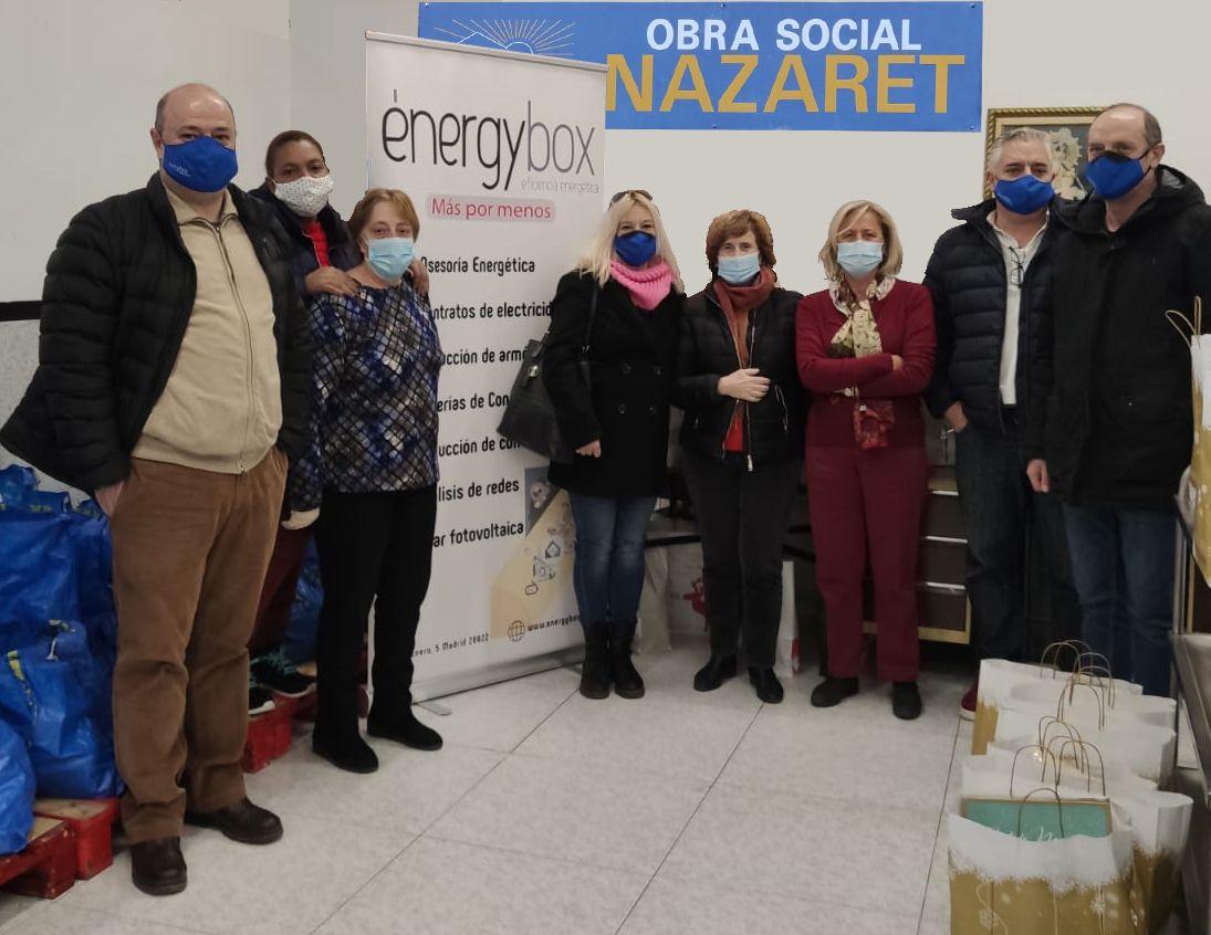 Foto de Energybox participa en la campaña solidaria de Navidad de la