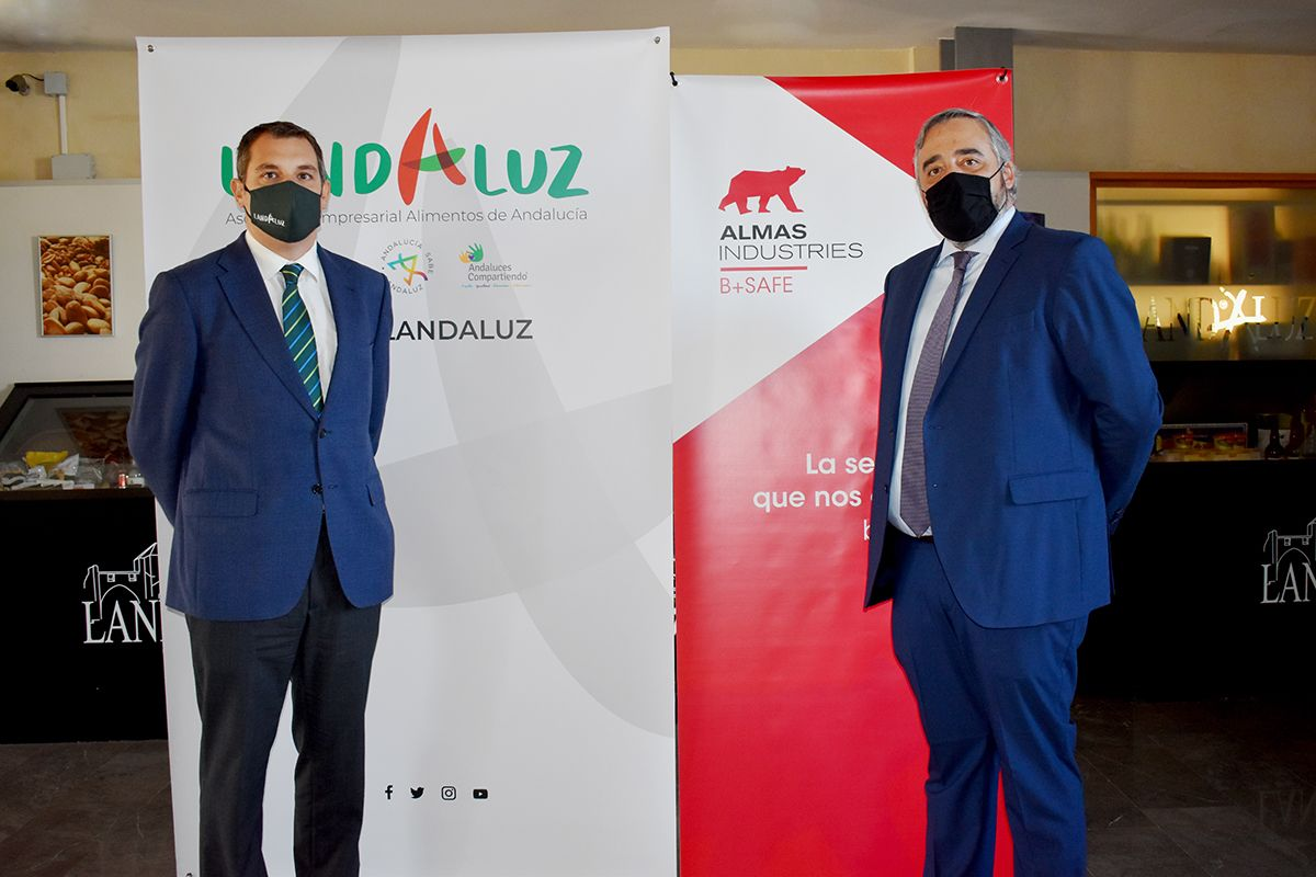 LANDALUZ y B+SAFE se unen para blindar frente al Covid-19 al sector agroalimentario andaluz
