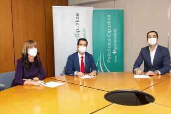 Foto de Acuerdo entre el COFPV y QS