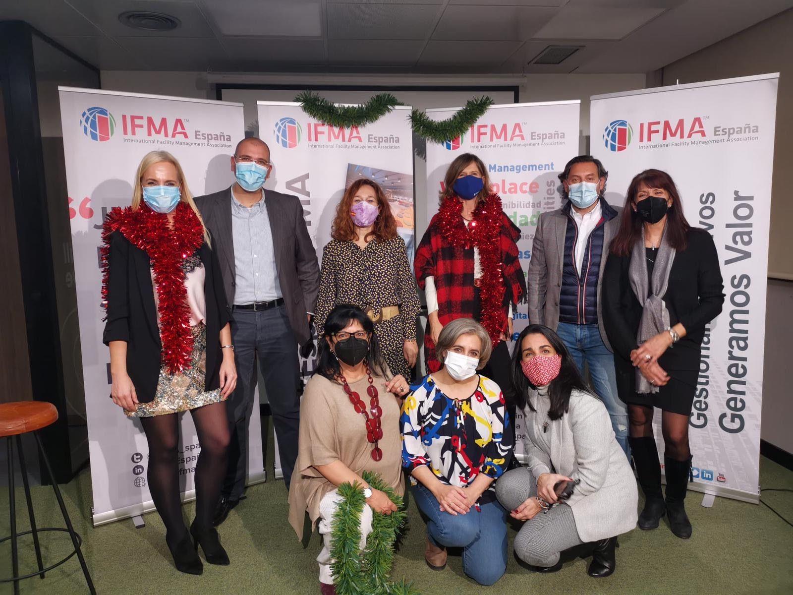 Foto de Miembros de Junta Directivo y Personal Laboral de IFMA España