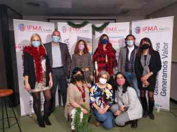 Miembros de Junta Directivo y Personal Laboral de IFMA España