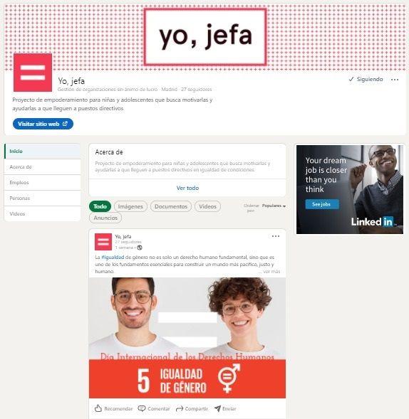 LinkedIn se une a ?Yo, jefa? para impulsar la presencia y el liderazgo de mujeres en su red