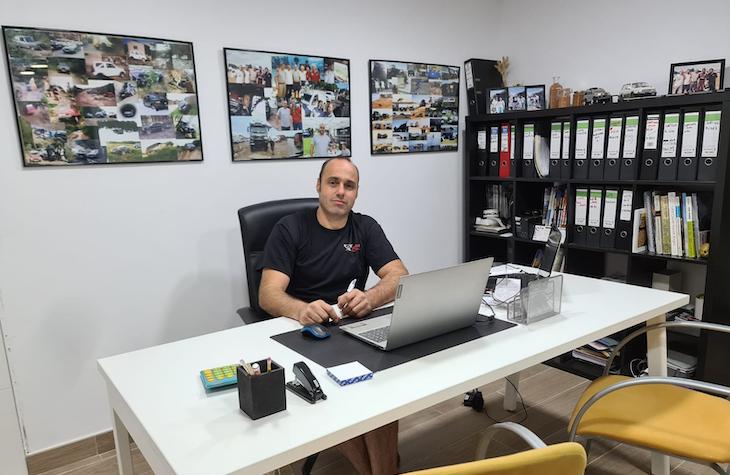 Fotografia Xavier Serra, gerente de Dream Fontanilles
