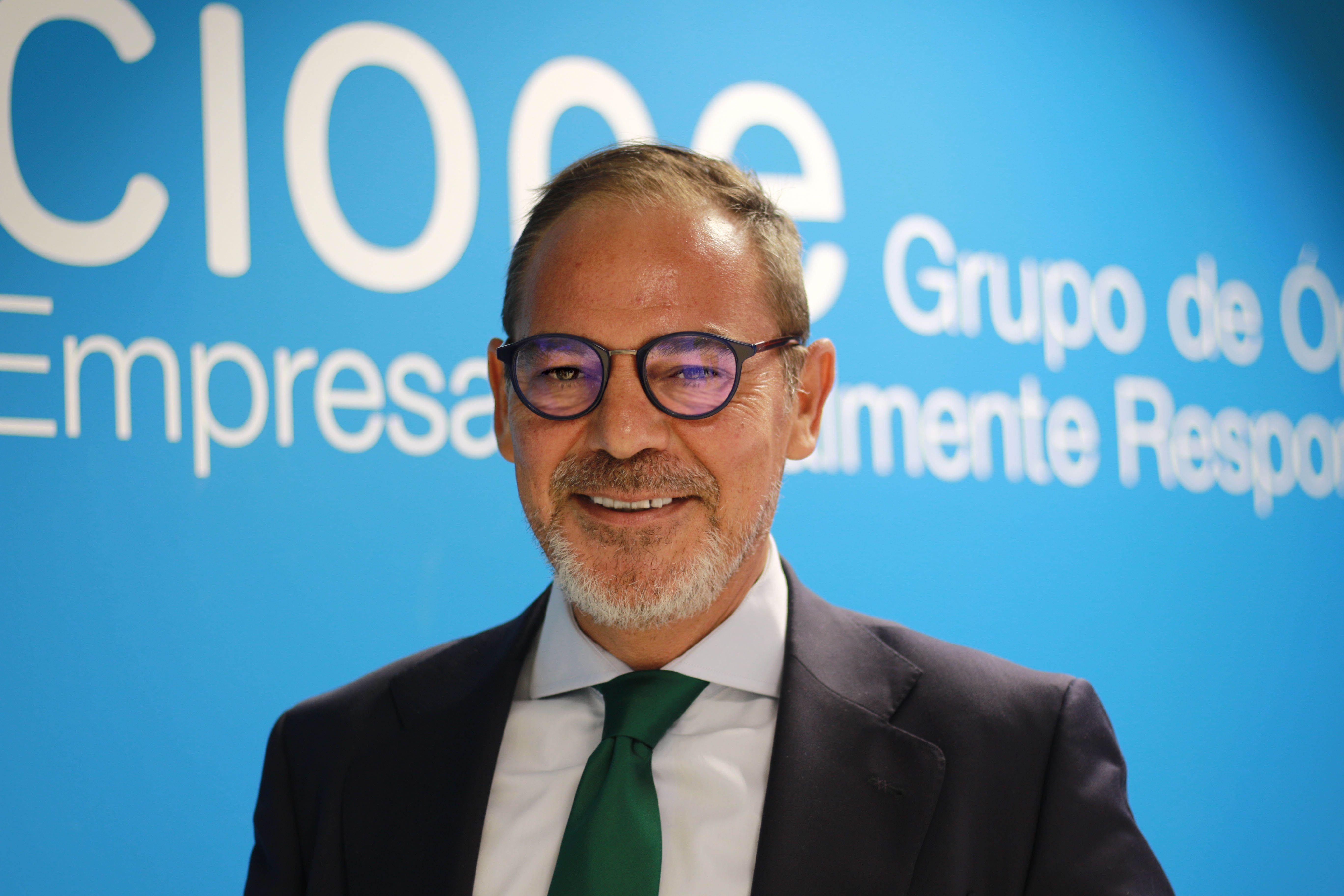 Foto de Miguel Angel García, director general de Cione