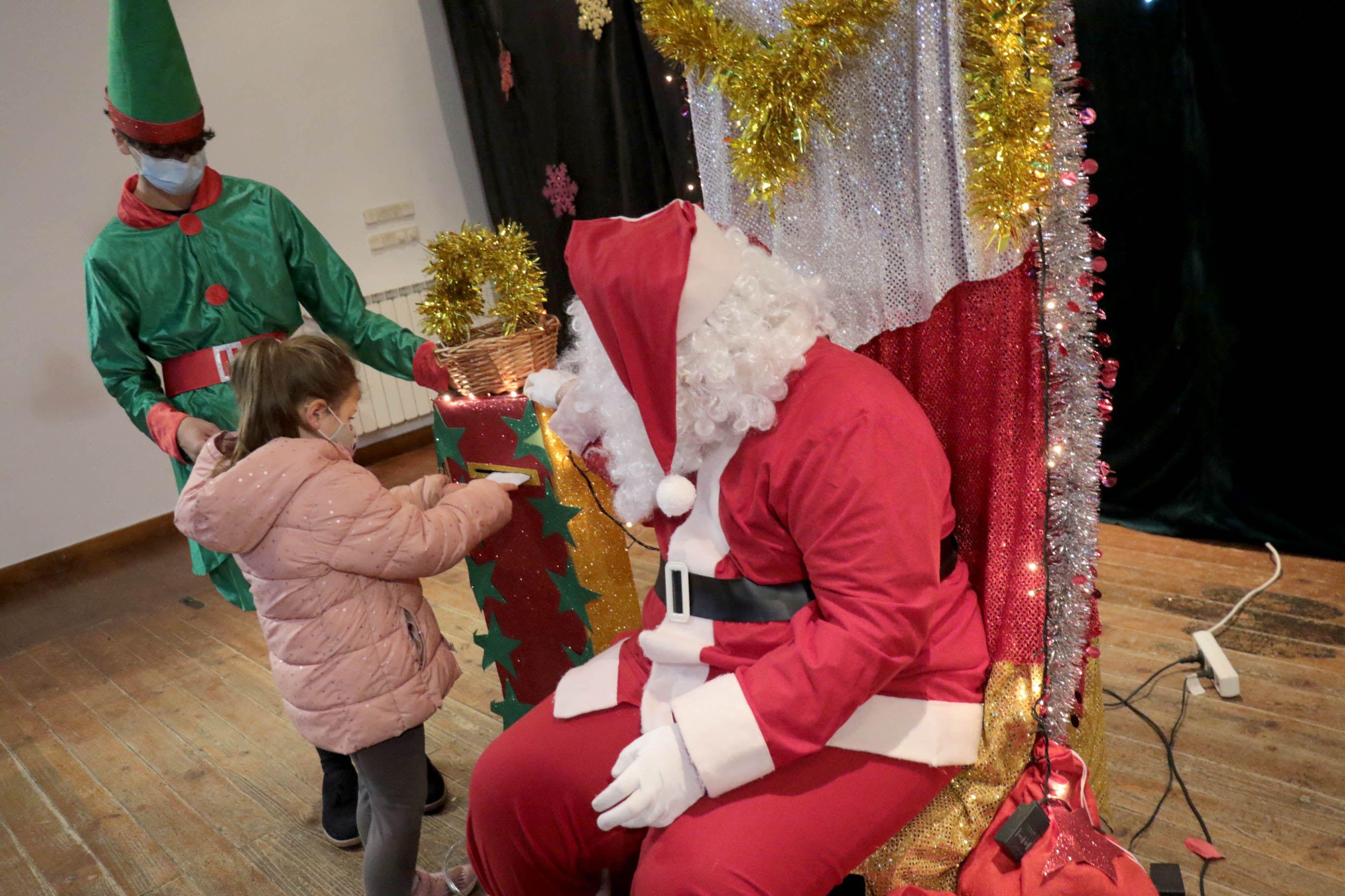 Foto de Papa Noel en Albalate de Zorita