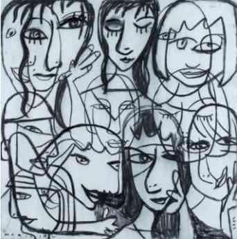 12 faces - Javier Mariscal