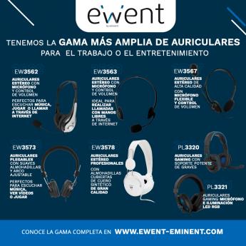 Auriculares Ewent