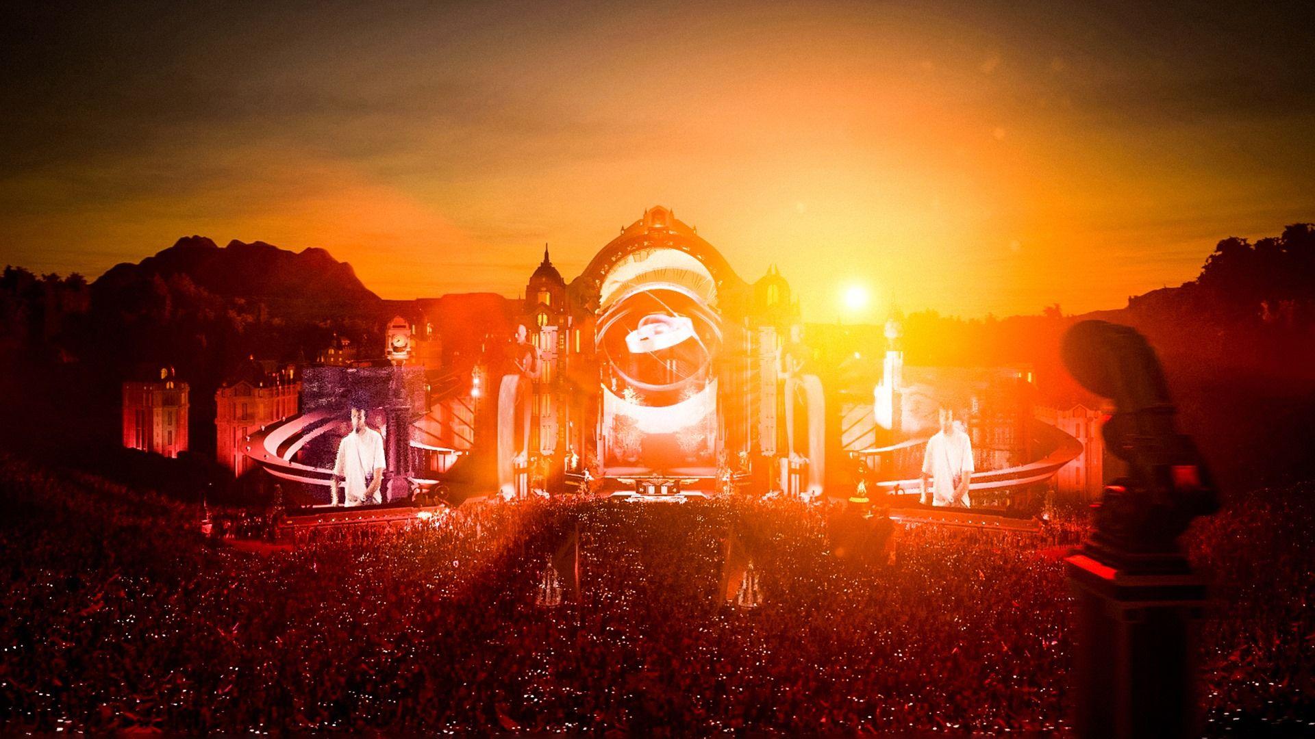 Fotografia Tomorrowland Festival