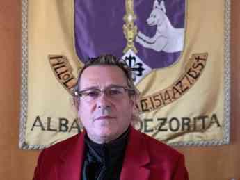 Alberto Merchante, alcalde de Albalate de Zorita
