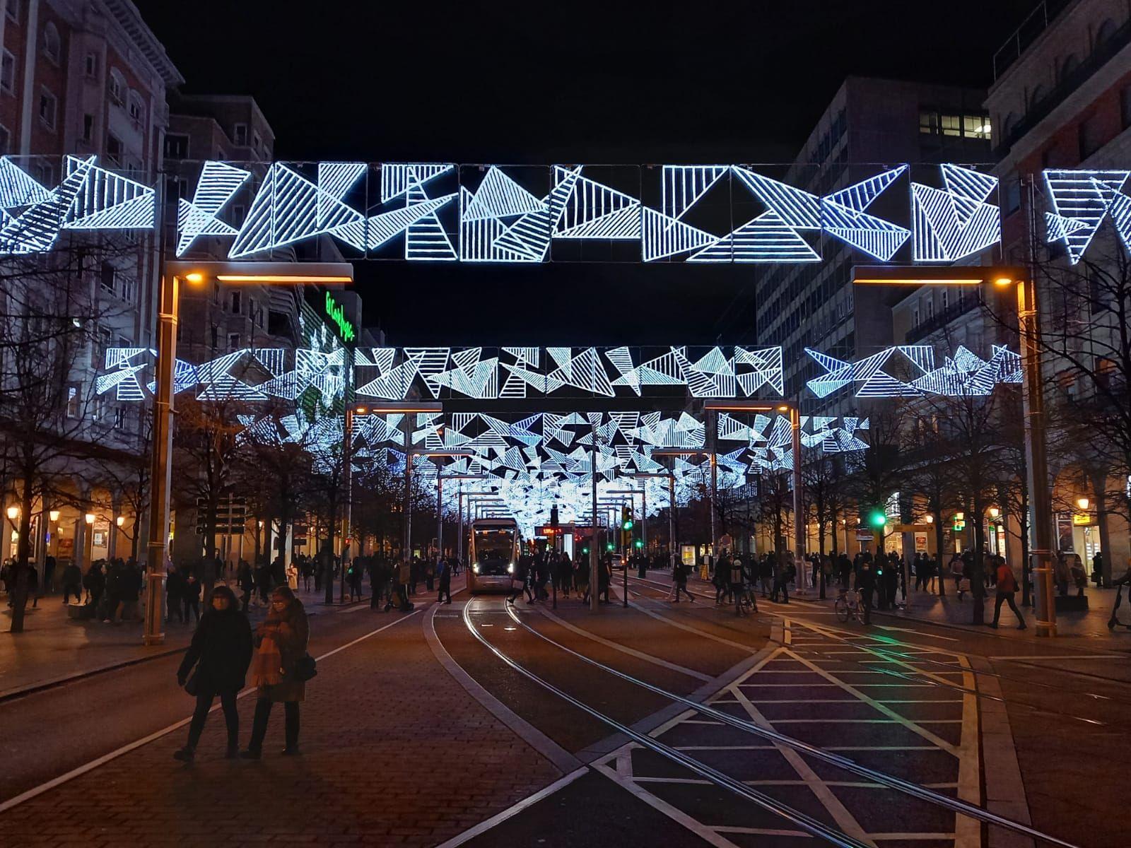 Foto de Iluminación navideña de Zaragoza