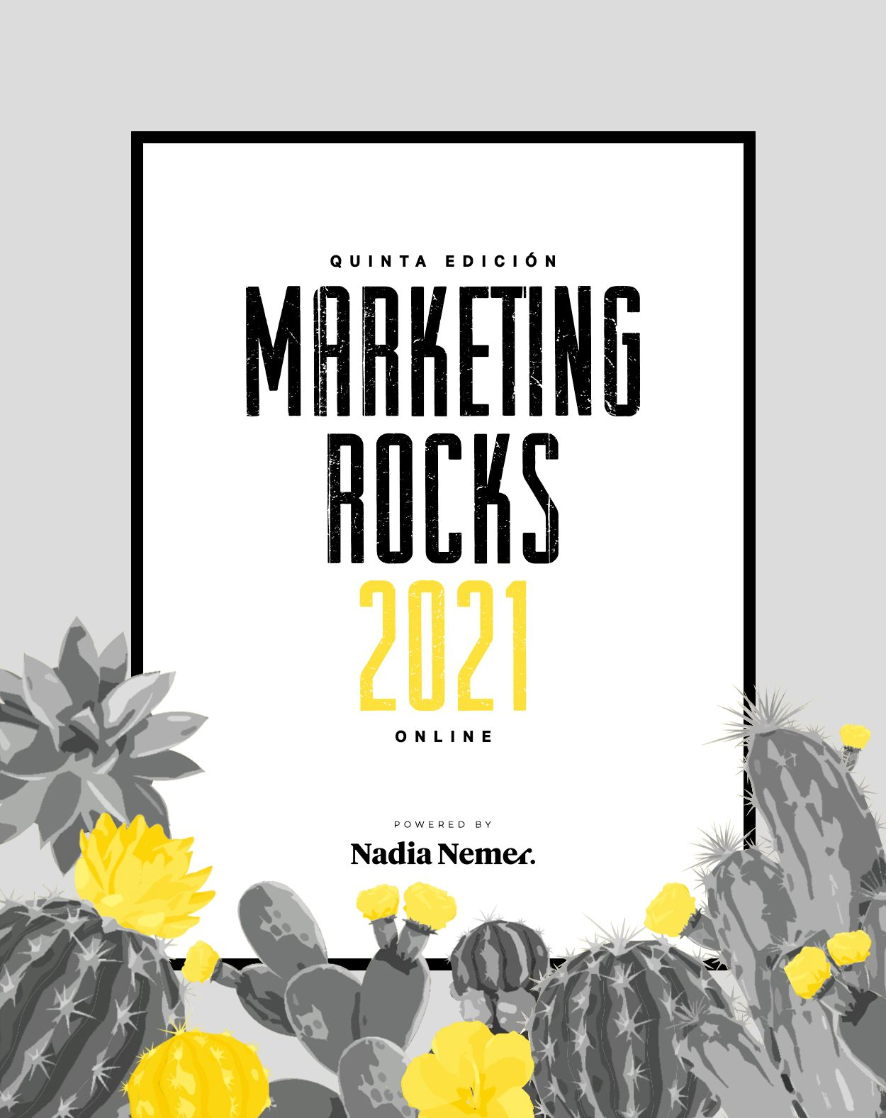 Foto de Cartel Evento Marketing Rocks 2021