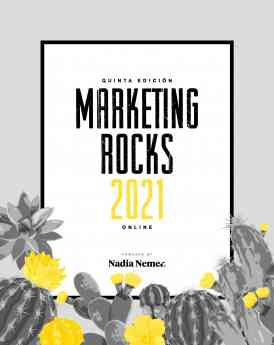Cartel Evento Marketing Rocks 2021