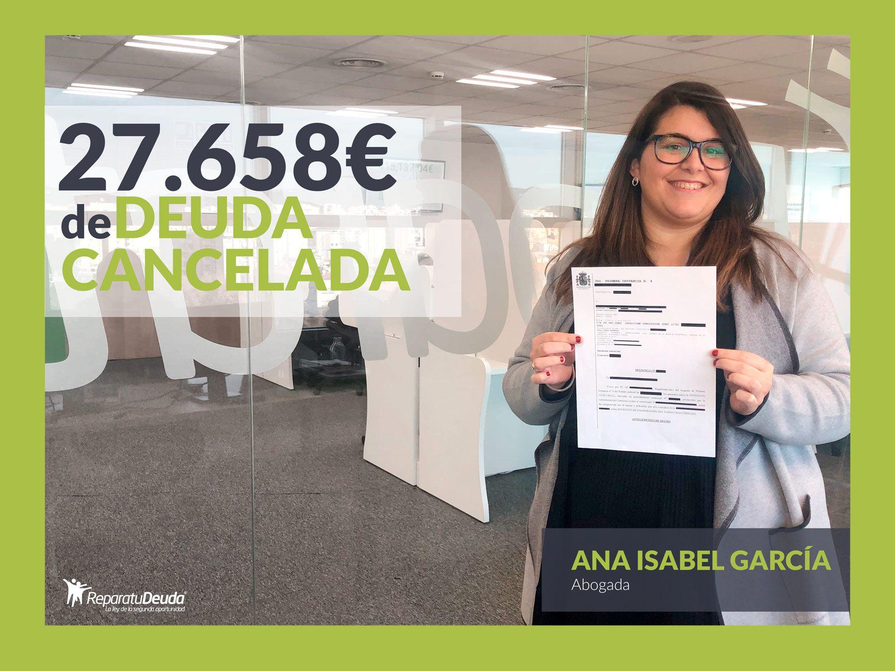 Foto de Ana Isabel García, abogada directora en Repara tu deuda
