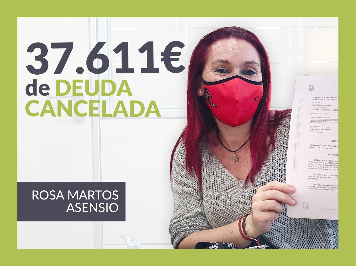 Foto de Rosa Martos, cancela sus deudas con 12 bancos gracias a