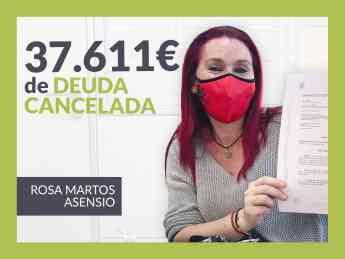 Rosa Martos, cancela sus deudas con 12 bancos gracias a Repara tu