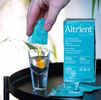 Glutatión de Altrient para aliviar la resaca