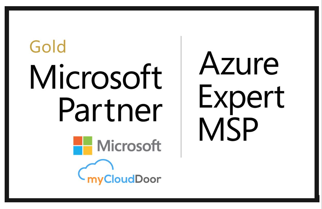 myCloudDoor reconocida por Microsoft como Azure Expert Managed Service Provider (MSP)