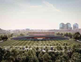 Proyecto de la nueva Ciudad Deportiva de la Fundació Damm