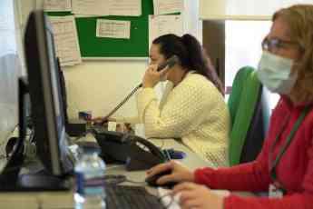 Foto de Trabajadoras del servicio municipal de Teleasistencia